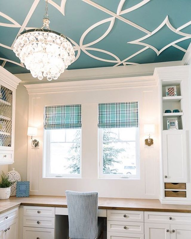 Take On The 5th Wall By Painting Your Ceiling A Distinct Blue