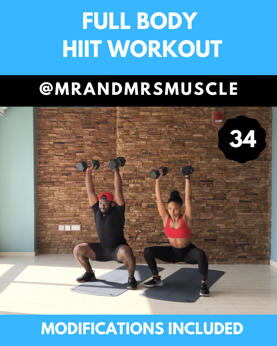 Total body HIIT workout routine with weights #fullbodyworkouts #hiit #hiitworkout #exercisefitness #...