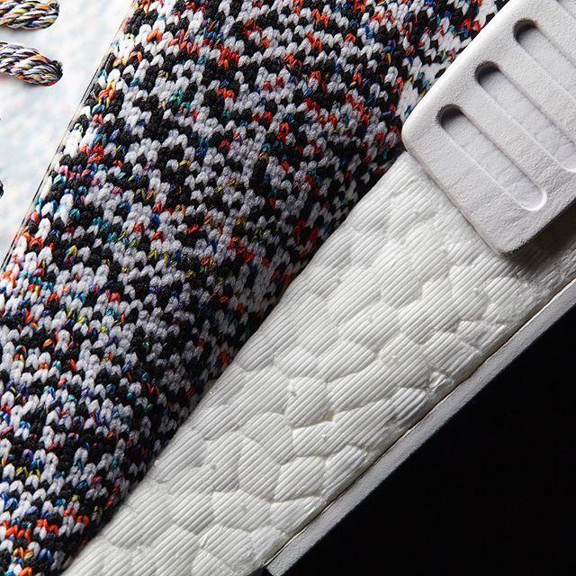 Adidas NMD R1 Colour Static On Feet Look