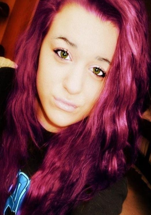 Redpurple Hair Color Never Stop Learning Pinterest Red Purple