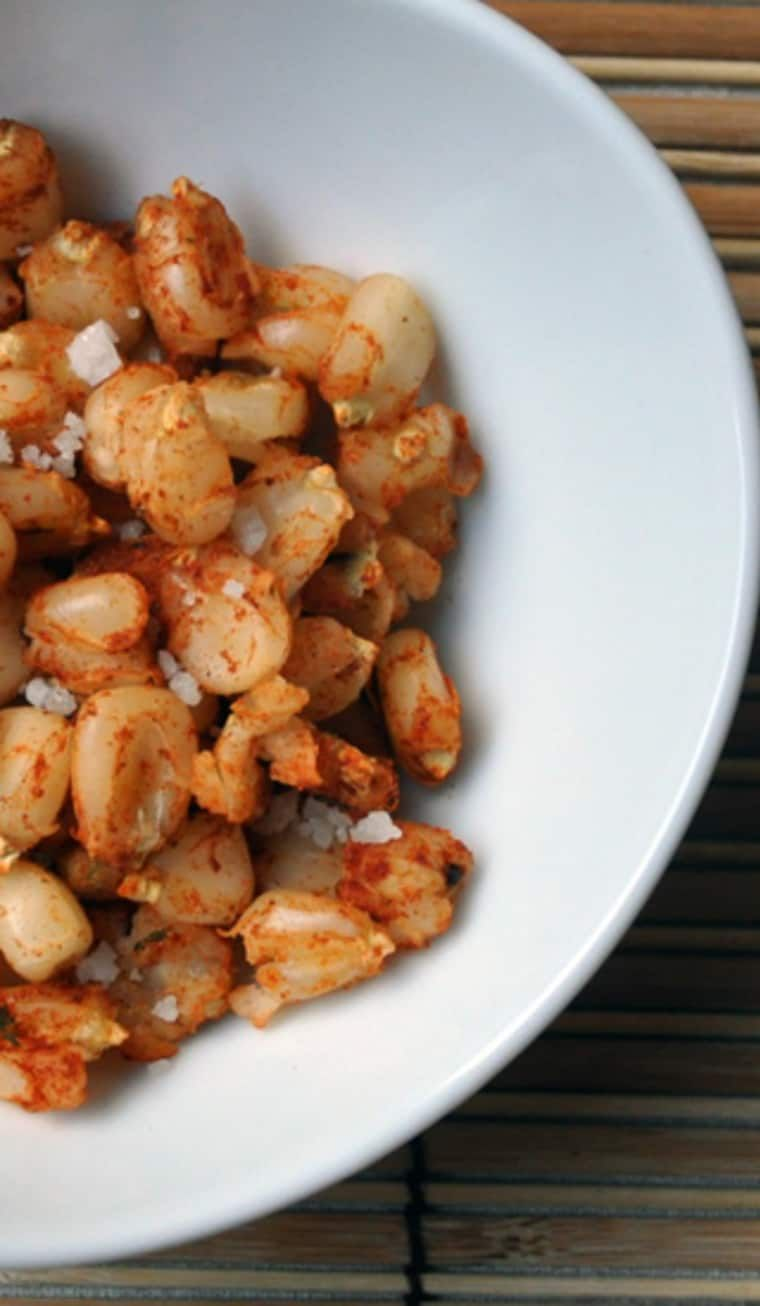how to make corn nuts from canned hominy