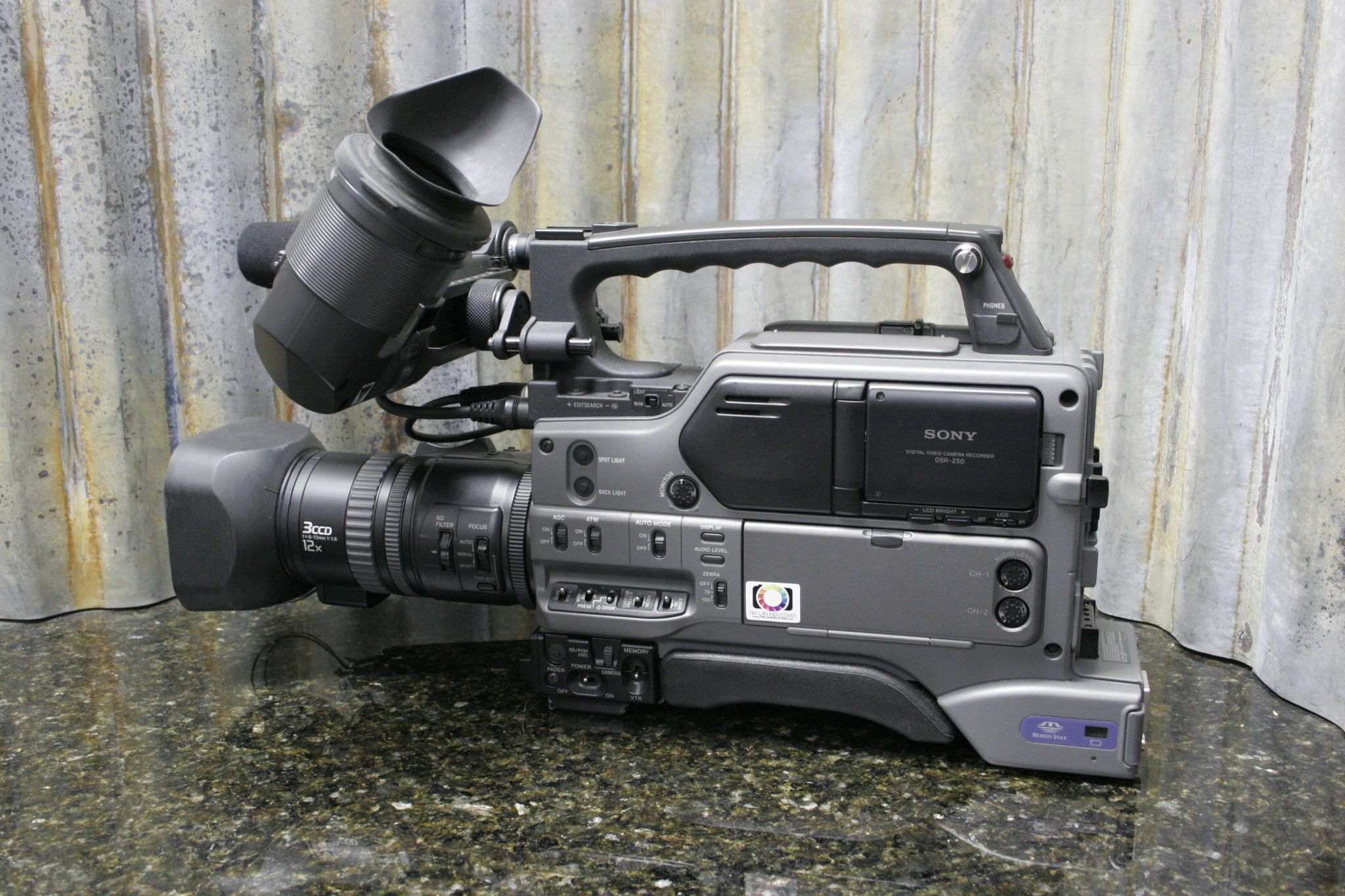 We know you were looking for one of these. http://tincanindustries.com/products/sony-dsr-250-professional-grade-broadcast-camera-low-hrs-nice-condition-free-s-h If it is already sold, keep searching, there is plenty more to find.