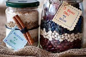 Edible Gifts: Healthy Recipes in a Jar - Food
