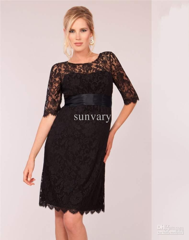 Black cocktail dress maternity wedding dress pinterest cheap black cocktail dress maternity ombrellifo Choice Image
