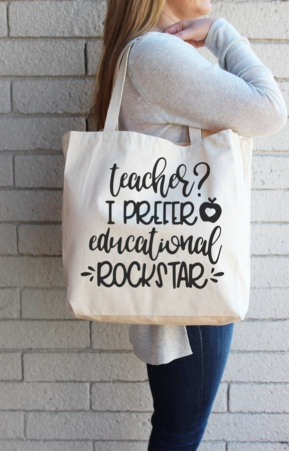 Teacher Tote Bag | Several Options #teachergifts