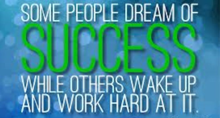 Dream BIG and Let's Make things happen!:) Good Morning!