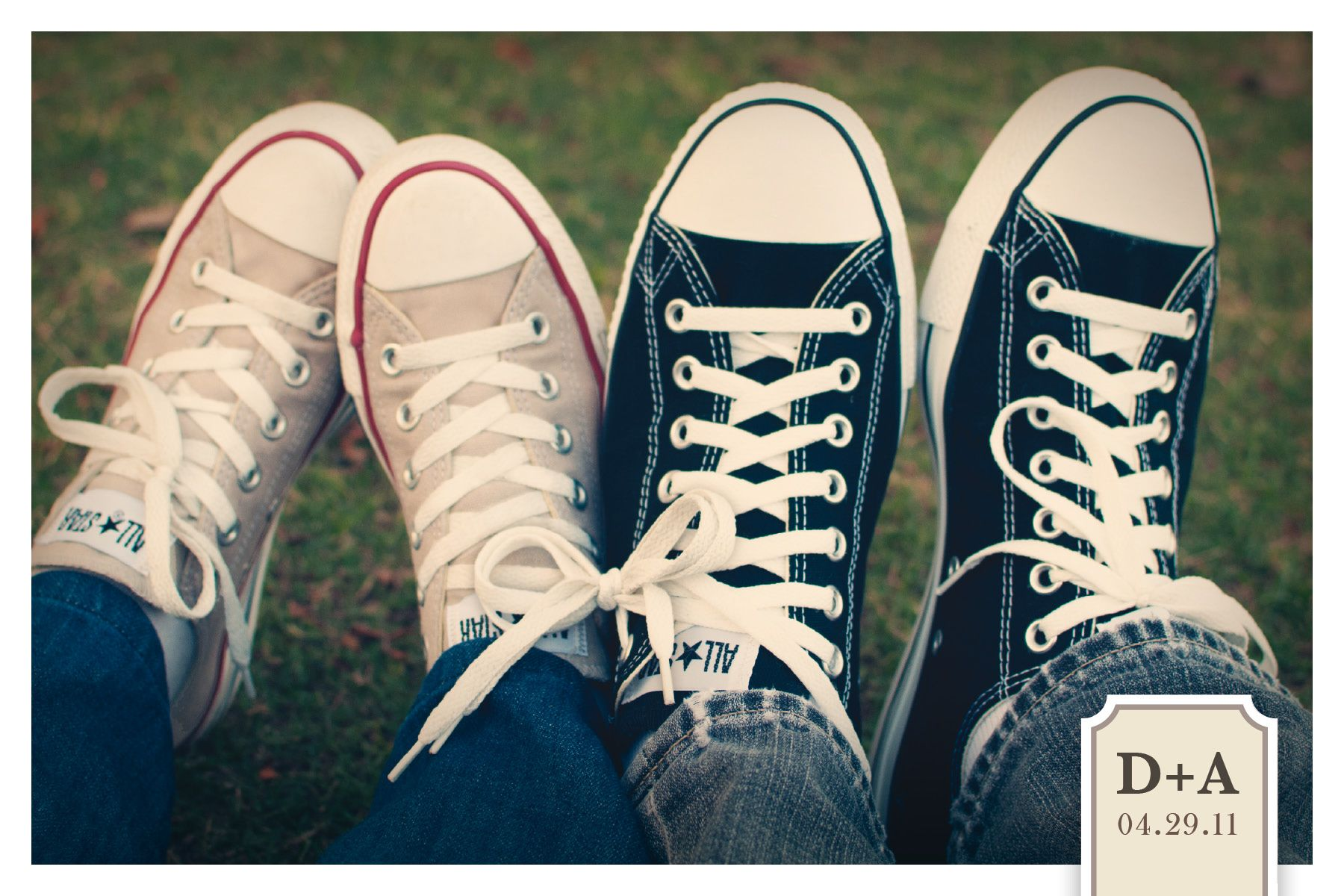 Converse Knot Cute Save The Date Idea Wifey Wedding Engagement Pictures Wedding Engagement Photos