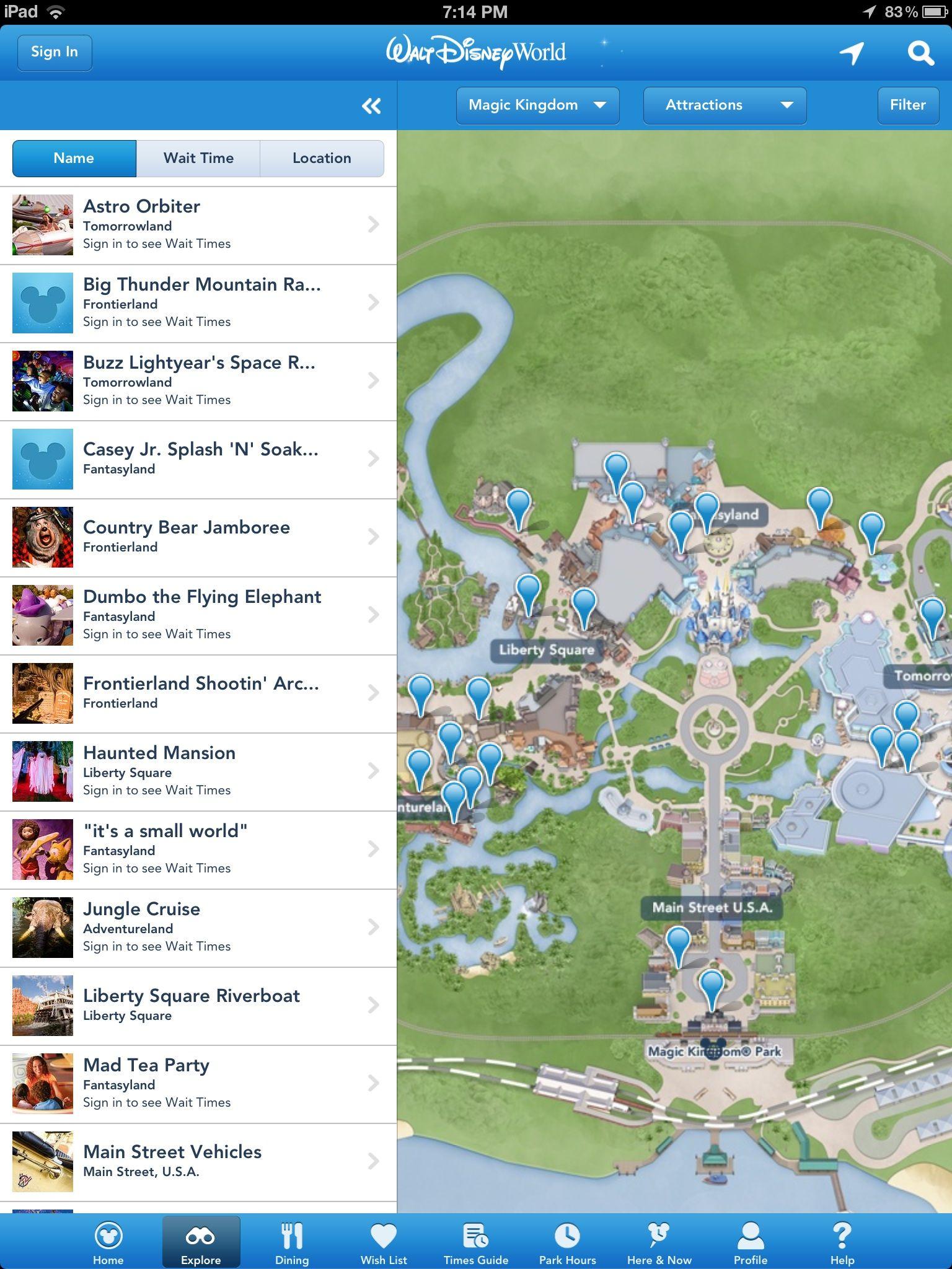 Walt Disney World launches 'My Disney Experience' app