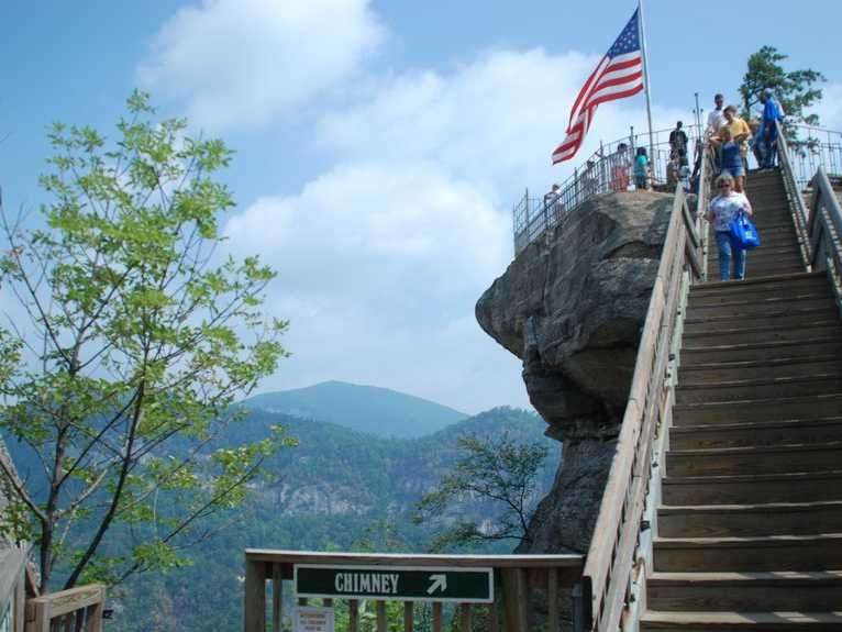 Chimney Rock State Park makes the list of must-see tourist attractions in some of the most popular cities for business travel.