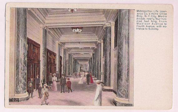 Metropolitan Life Insurance Company Nyc Early 1900 S Vintage