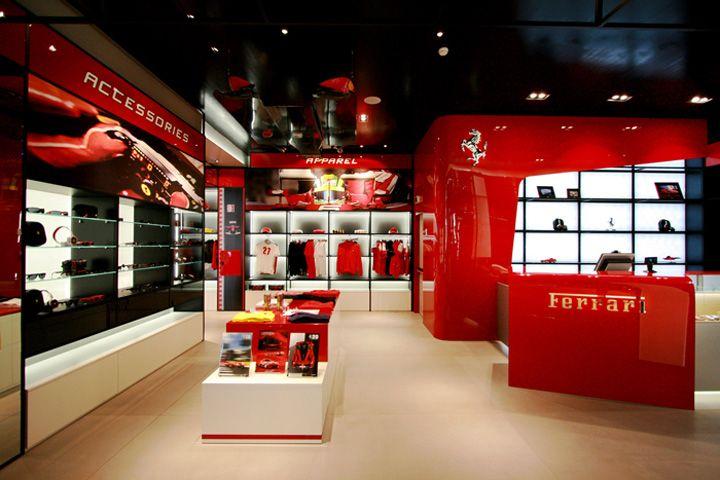 Ferrari store by Iosa Ghini Associati 07152b8782