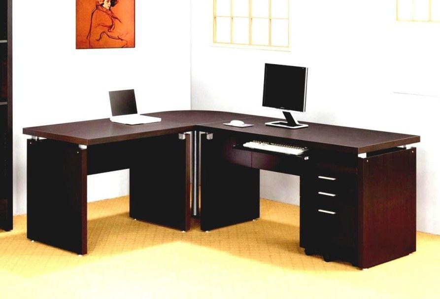 Merveilleux Home Office Inspiring L Shaped Home Office Desks For Proper Corner