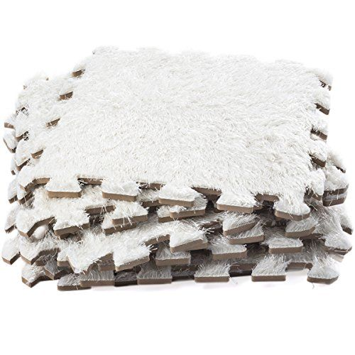 Soft Interlocking Foam Mats Plush Carpet Area Rug Tiles Puzzle Floor Mat Thick Non Toxic Anti Fatigue