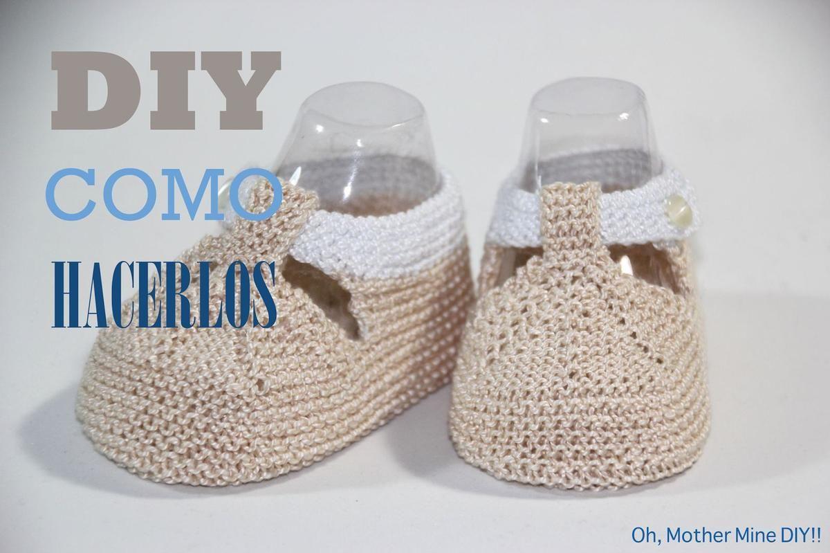 Regalo DIY para hacer en Navidad: Zapatos de punto para bebé | Bebé ...