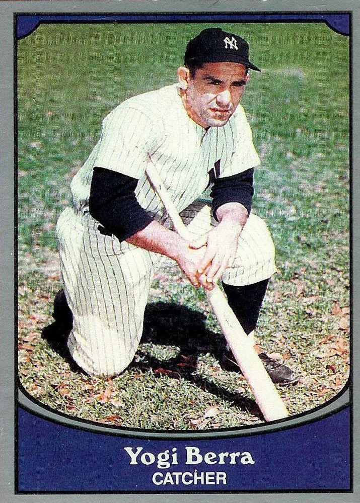 Yogi Berra 1990 Pacific Trading Card Baseball Legends 7 Mint
