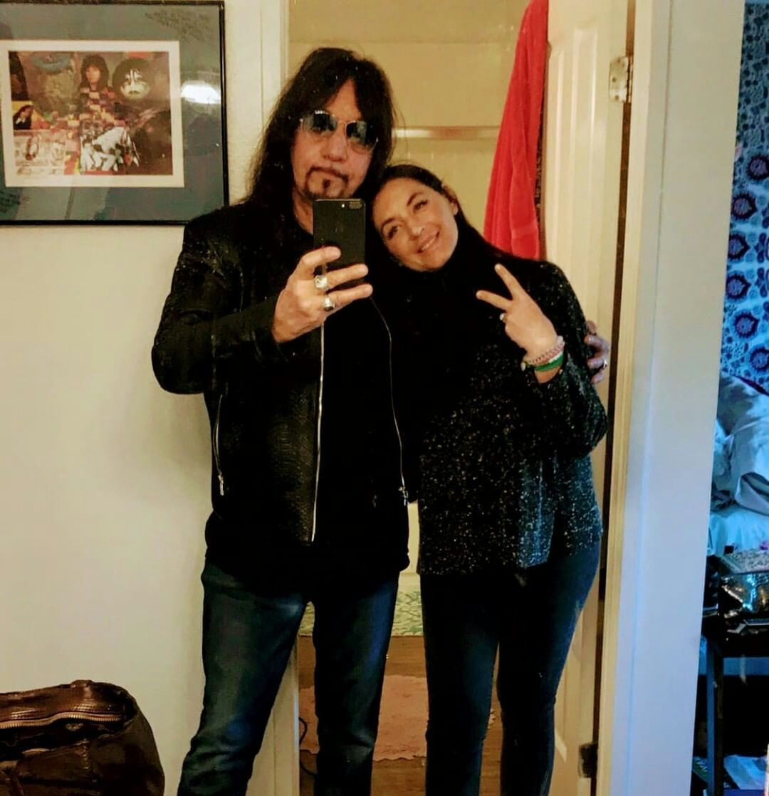 Ace And His Daughter Monique Celebrity Daughters Ace Frehley