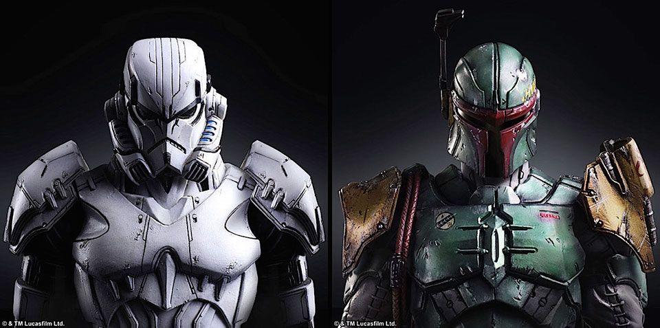 Vilões de Star Wars reimaginados pela Square Enix