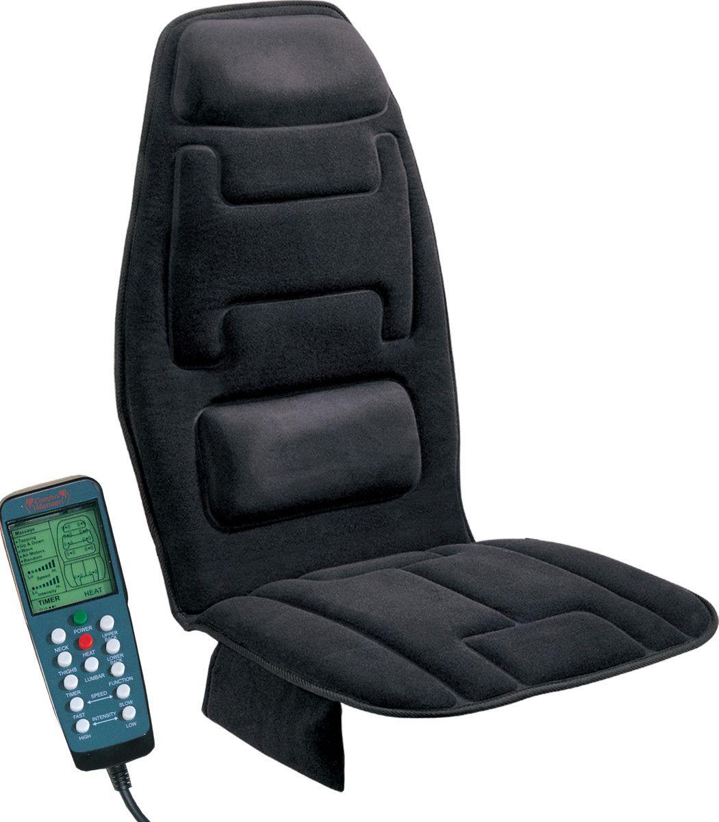 Comfort products ten motor massaging seat cushion in