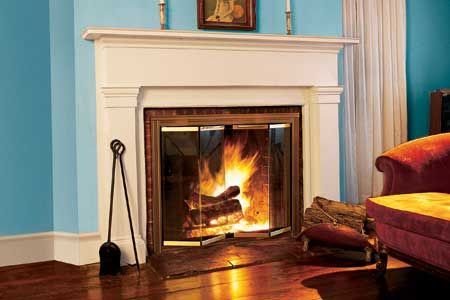 How To Install Glass Fireplace Doors Glass Fireplace Doors