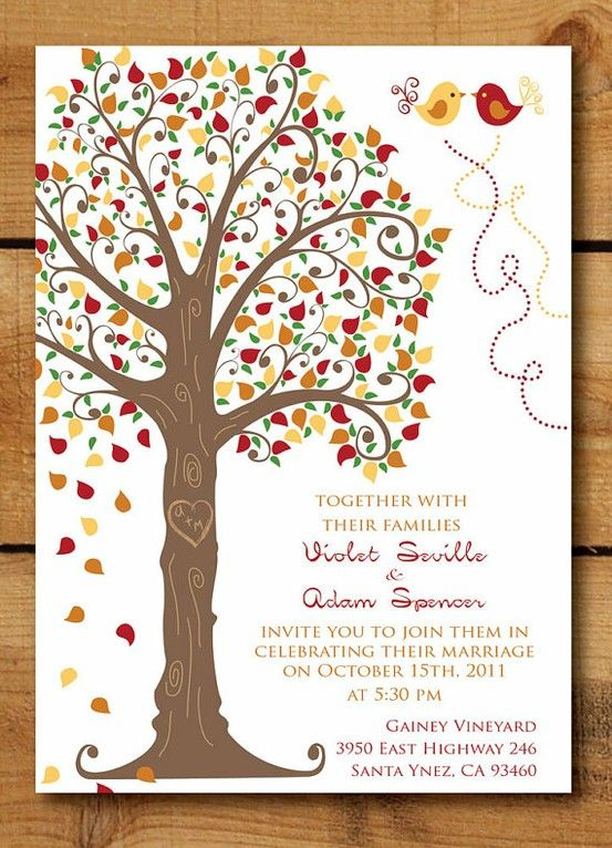 wedding invite wording casual Informal Wedding Invitations Source