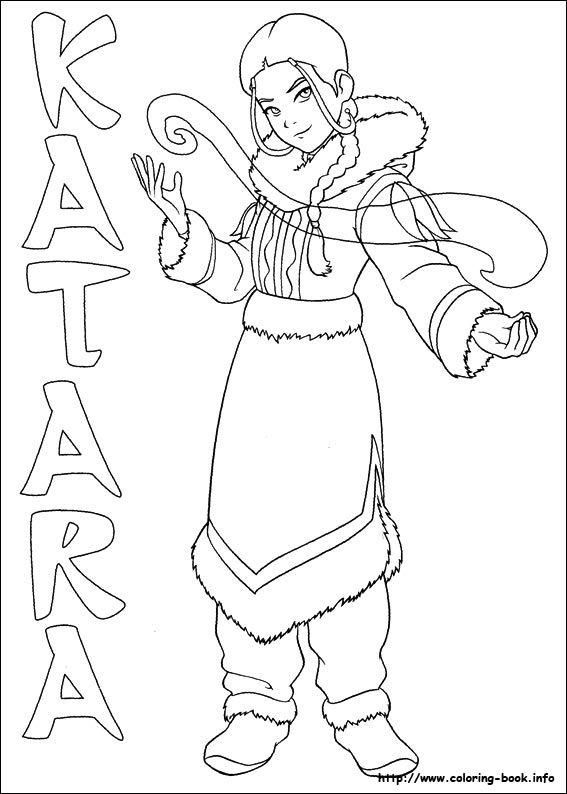Awatar Kolorowanki 4 Jpg 567 794 Pixels Coloring Books Avatar The Last Airbender Avatar The Last Airbender Art