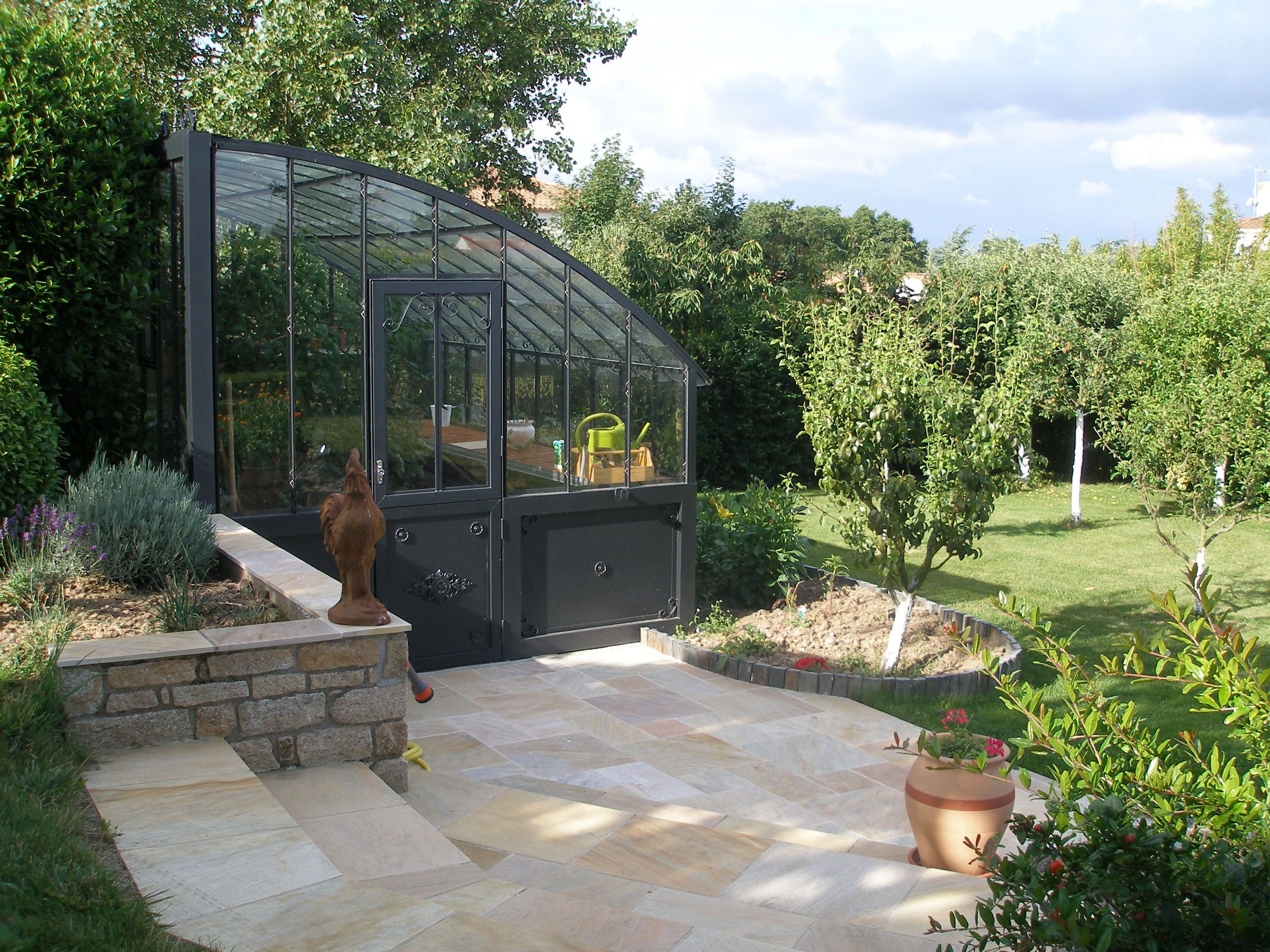 Serre versailles jardin pinterest garden construction et house - Mobilier de jardin brabant wallon versailles ...