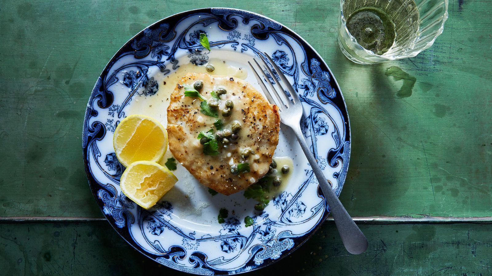 Swordfish Piccata Recipe - NYT Cooking ...