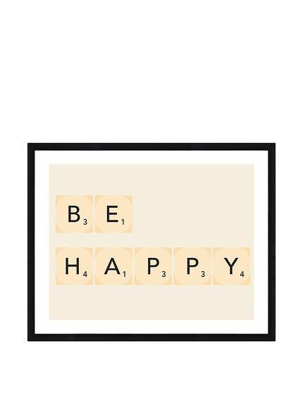 ReallyNiceThings Pannello Decorativo Be Happy su Amazon BuyVIP