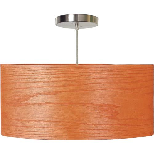 Walnut wood veneer drum pendant with 20 x 9 shade seascape lamps drum pendant lighting cei