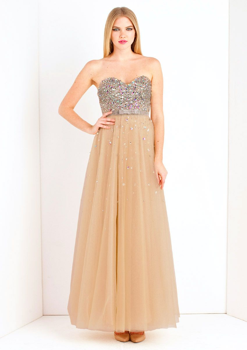 Cinder champagne maxi prom dress long gownwedding dress