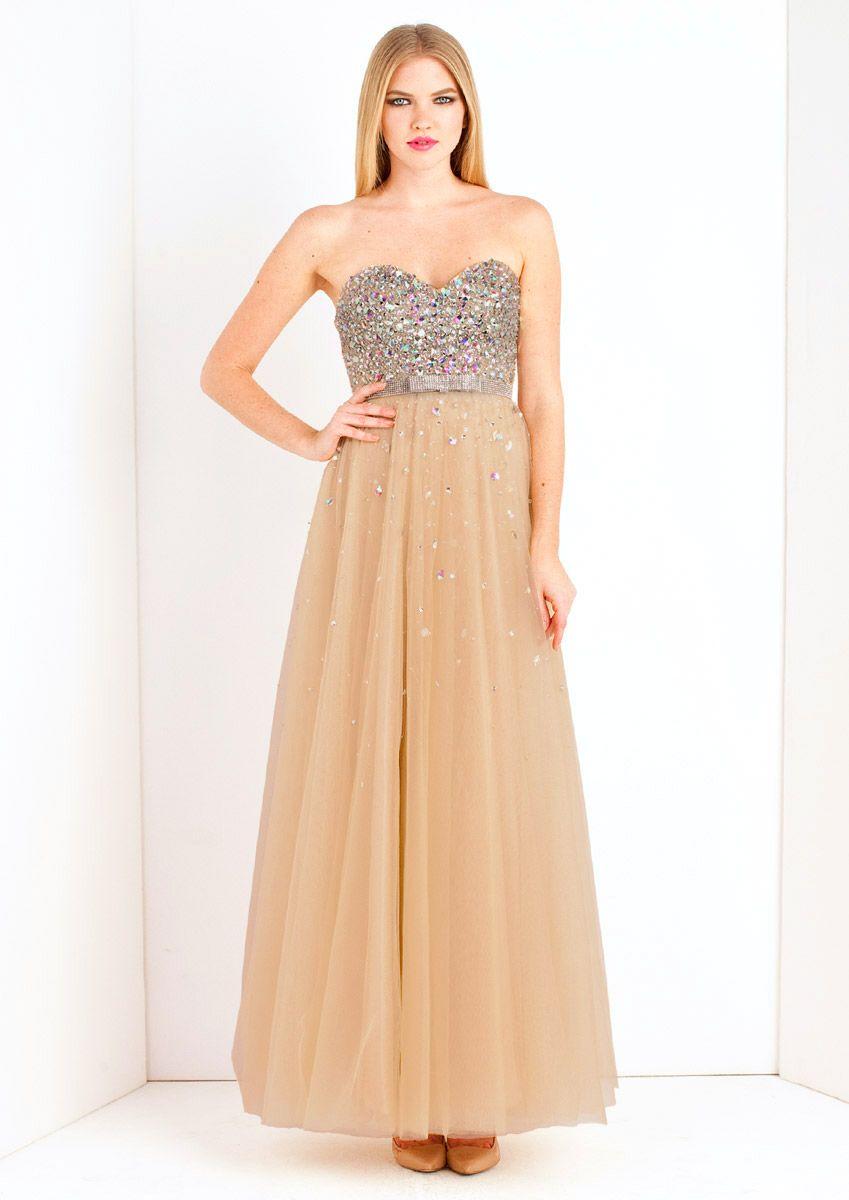 Cinder champagne maxi prom dress long gownwedding dress