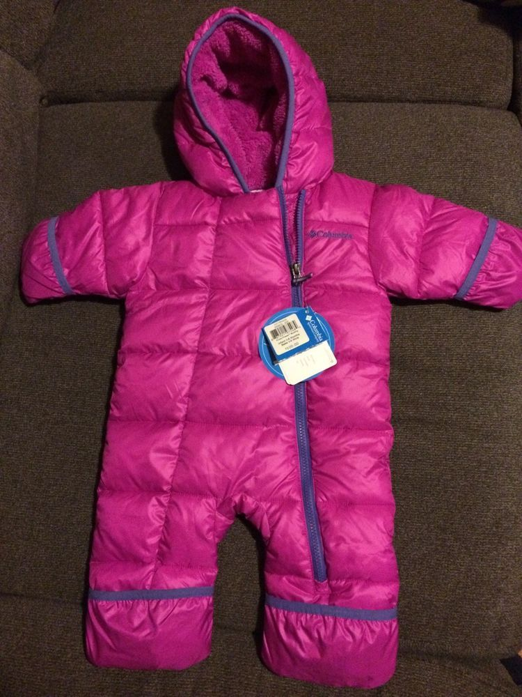 cad7d0efb NWT Infant Baby Girl Columbia Snowsuit One Piece Size 3-6 Months MSRP$100  #fashion #clothing #shoes #accessories #babytoddlerclothing ...