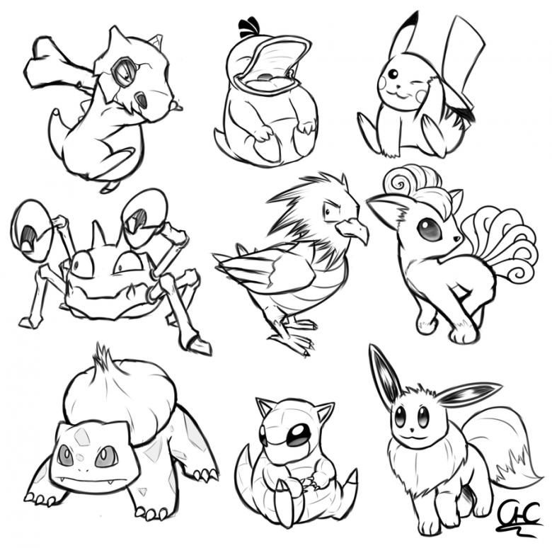 Pokemon 115 Ausmalbilder Pc Dekstop Full Hd Wallpapers Colorear Pokemon Imagenes De Pokemon Dibujos