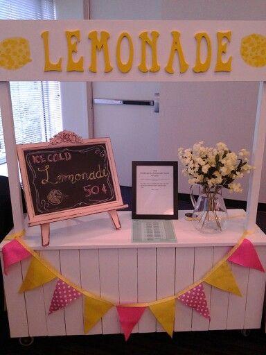 Lemonade sale, recuerdos de niña soñar a ser empresaria.