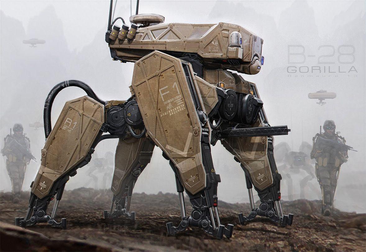 Robots by Ben Mauro