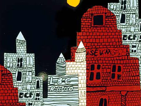 City Architecture at Night lesson plan- crayola