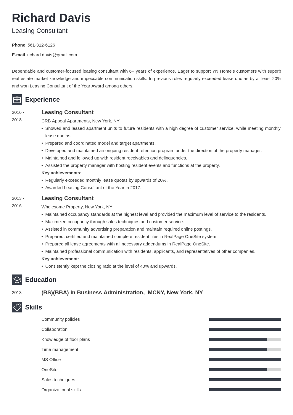 Leasing Consultant Resume Example Template Newcast Leasing Consultant Resume Examples Job Resume Examples