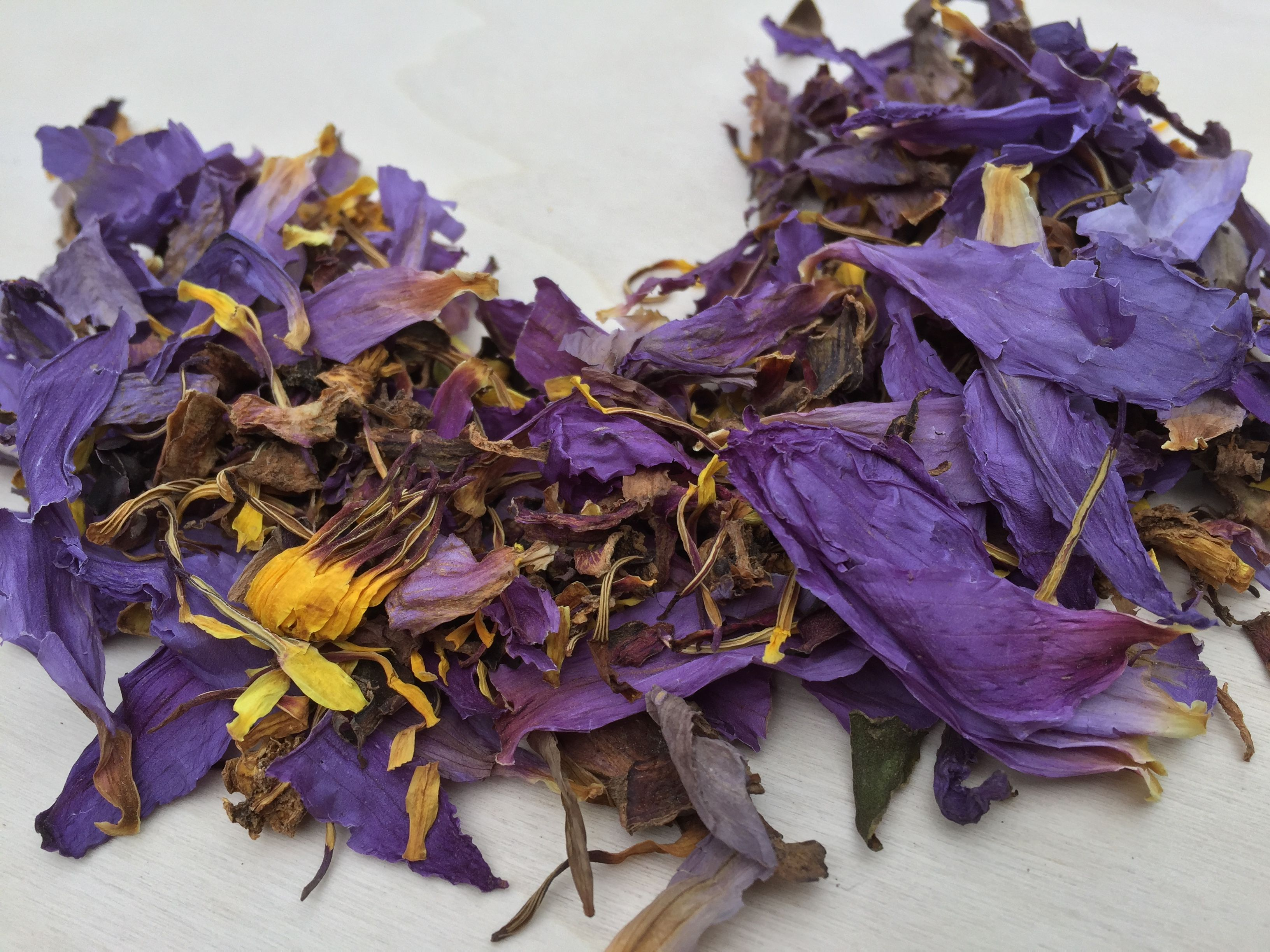 Blue Lotus 1oz N Caerulea Free Shipping Deep Purple Thai