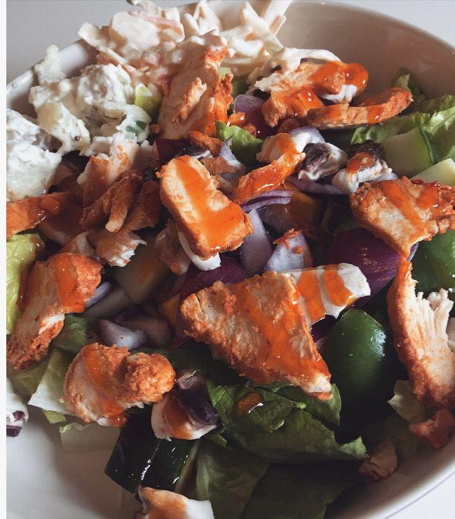 23/07 chilli chicken salad