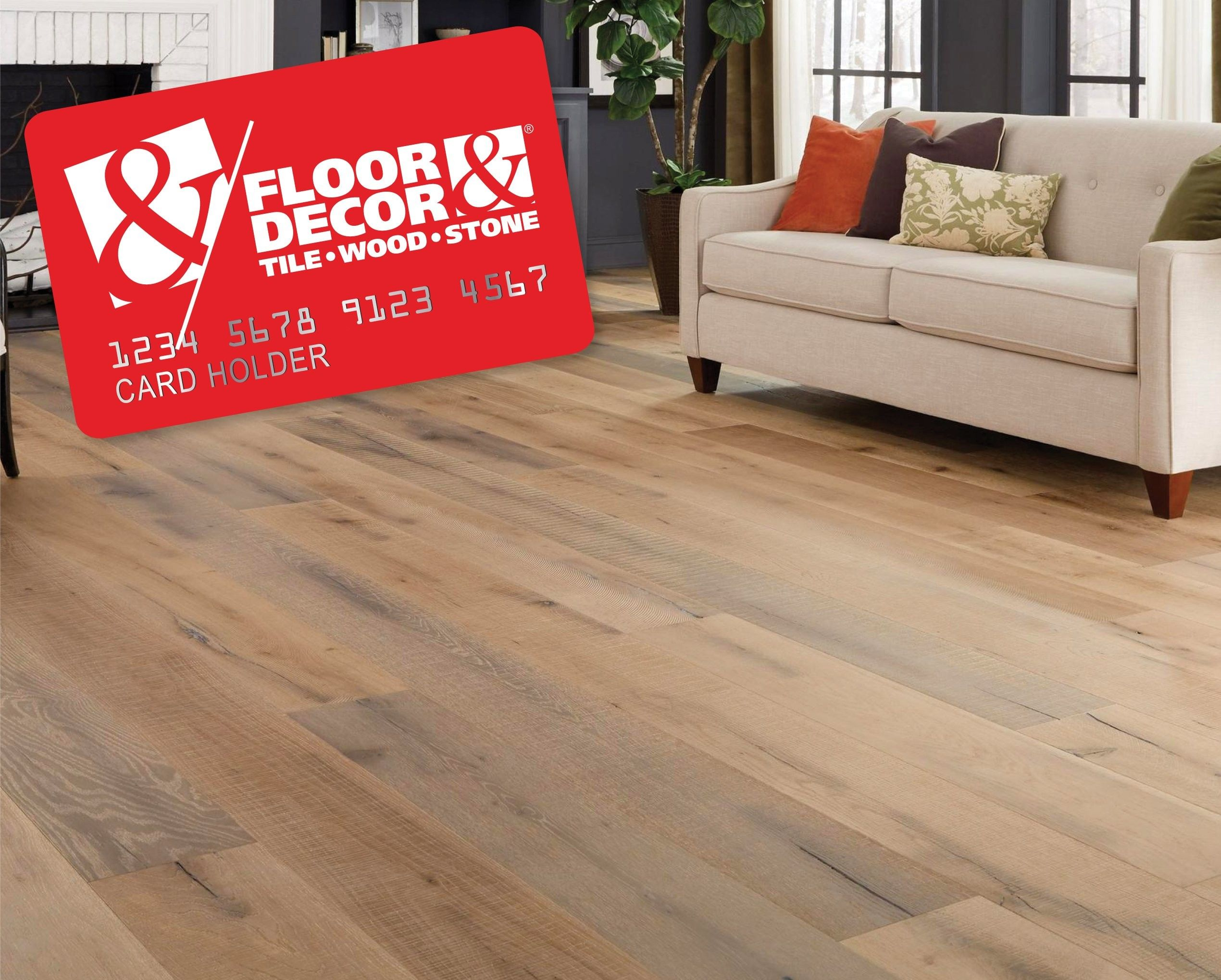 Floor Decor Credit Card From 4 11 2019