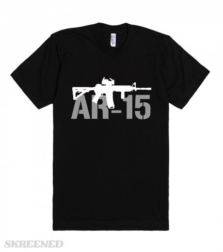 AR-15 | army AR 15 t-shirt #Skreened