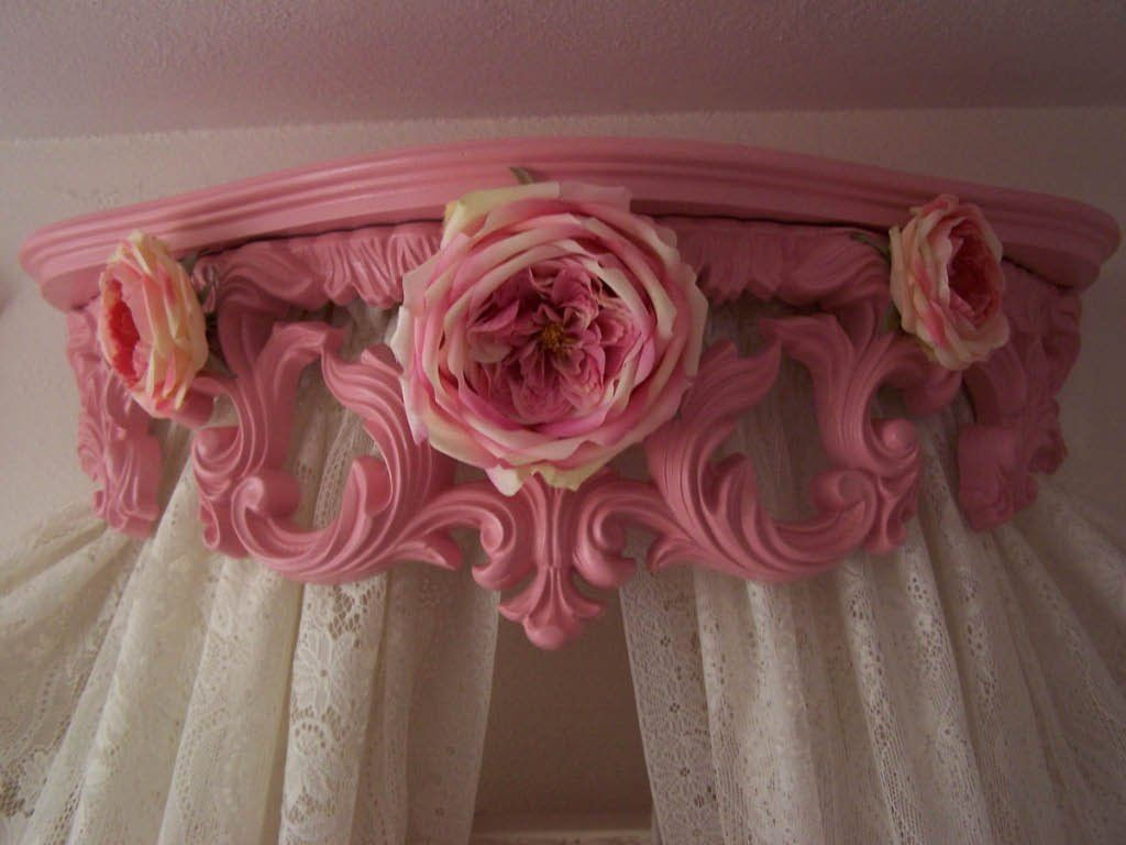 Best Bed Crown I Made From A Shelf Bed Crown Antique Canopy 640 x 480