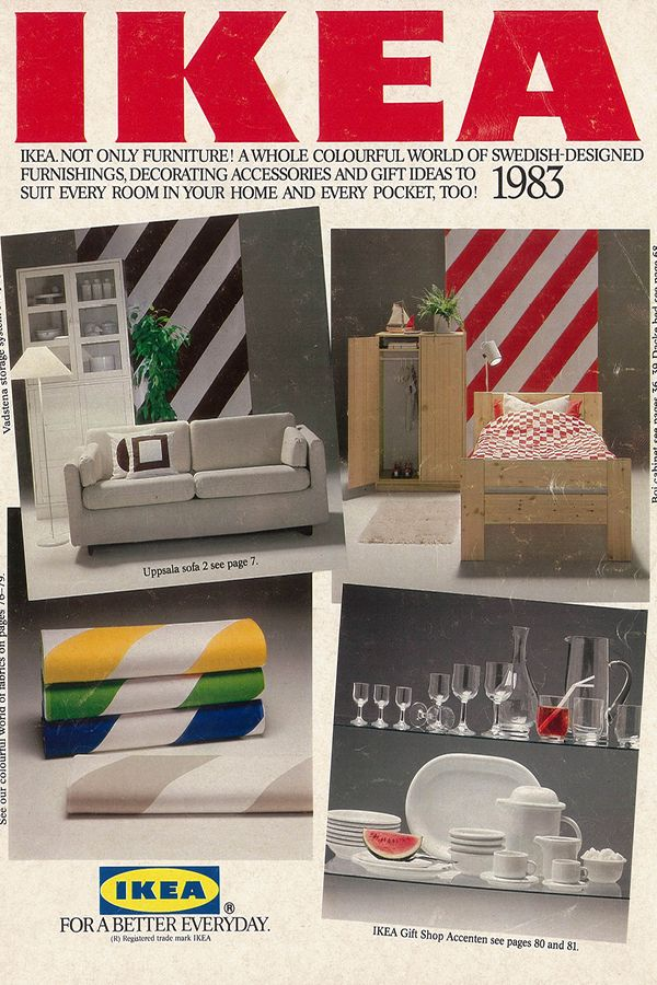 The 1983 IKEA Catalogue - trends of the u002780s are now starting to - ikea küchen katalog