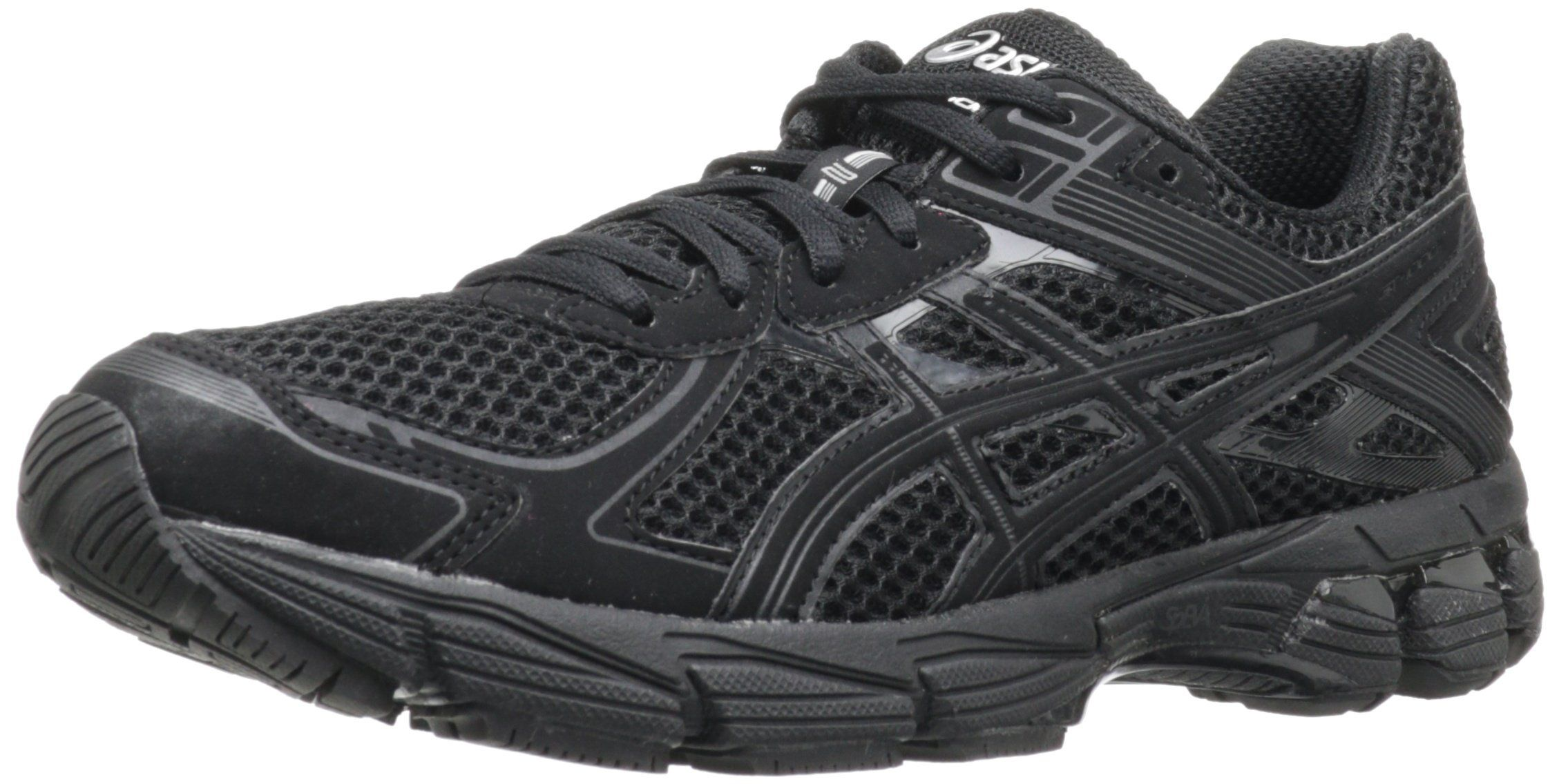 all black asics womens