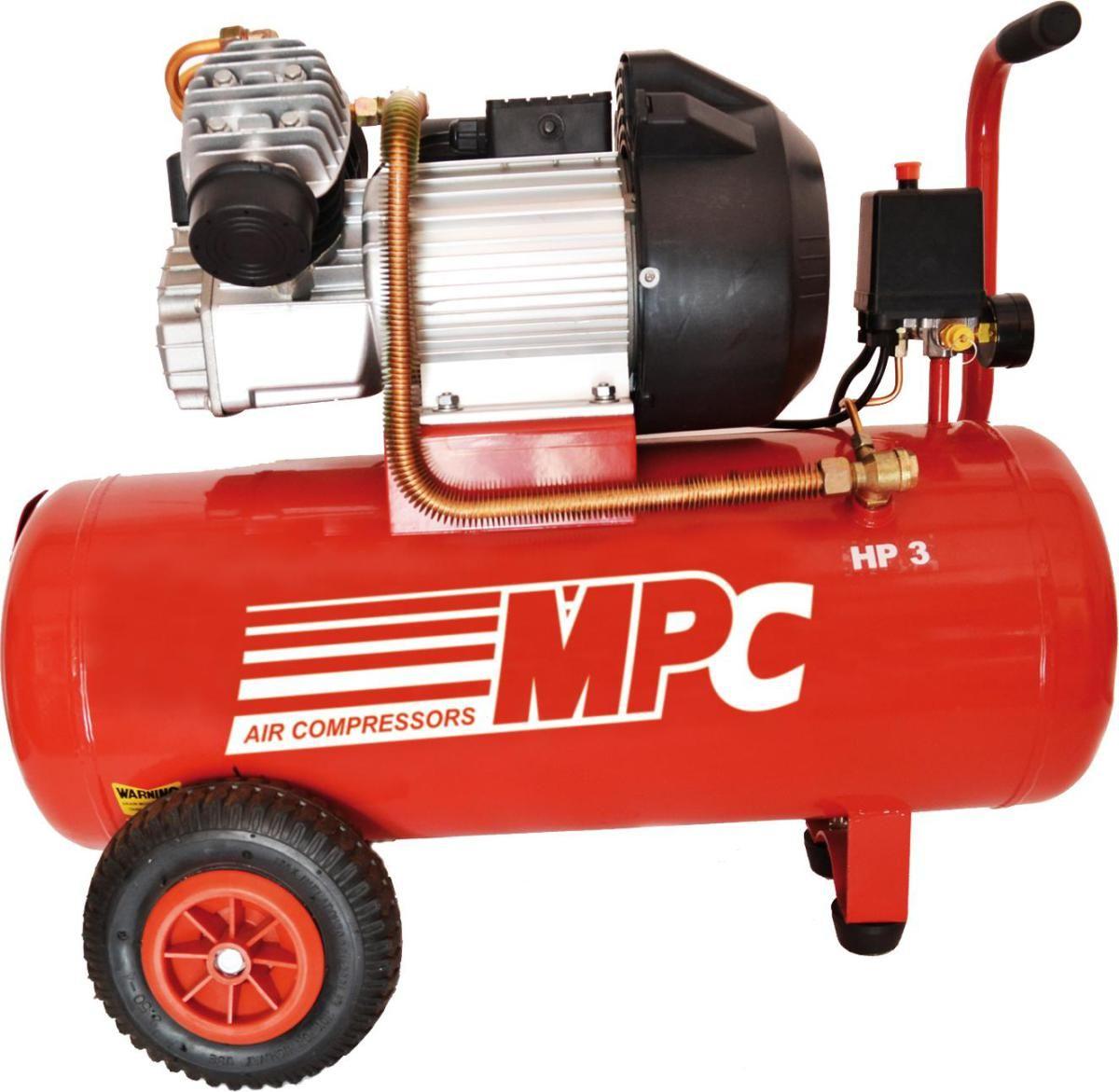 Compresor Coaxial MPC CDV350 3Hp 50Lts. 8 Bar 350lts./min