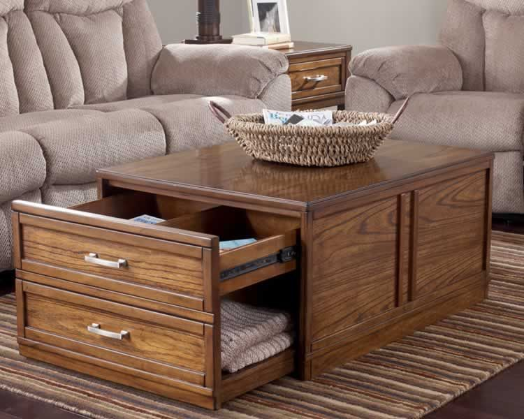 Image result for coffee table storage
