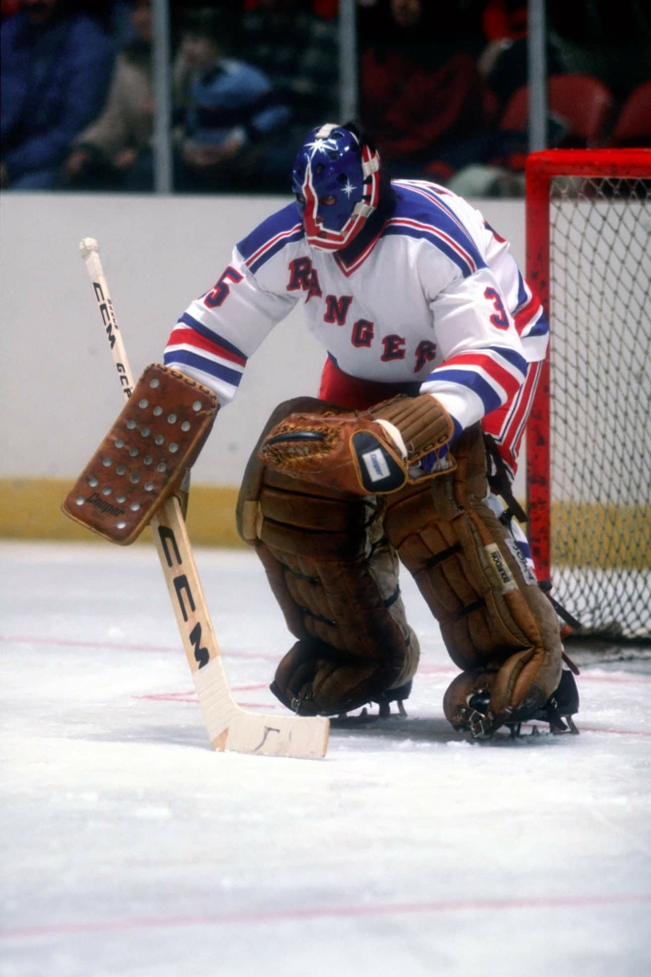 Pin by Steve Lilley on vintage goalies Goalie mask