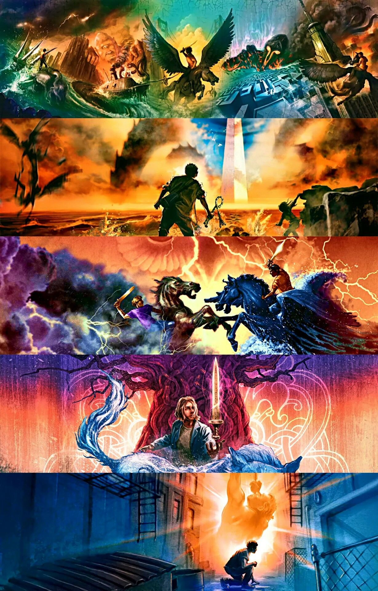 Percy jackson iphone wallpaper tumblr - Rick Riordan Series Percy Jackson And The Olympians The Kane Chronicles Heroes Of