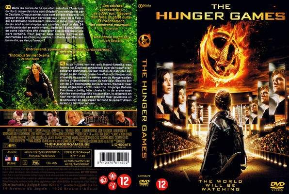 cookbook front and back cover | The Hunger Games (2012 ...