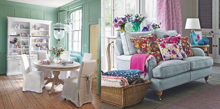 Une maison de charme style cottage anglais   Salons
